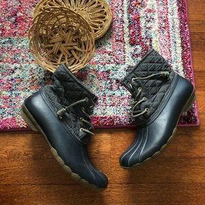 Sperry Navy Blue winter/rain boots